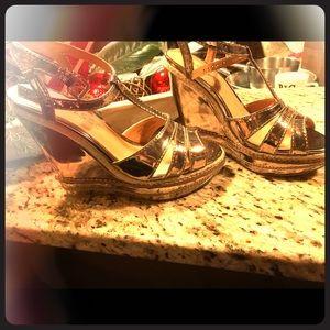 Matisse Platinum Wedges
